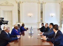 Ilham Aliyev meets delegation led by Djibouti's National Assembly president (PHOTO) - Gallery Thumbnail