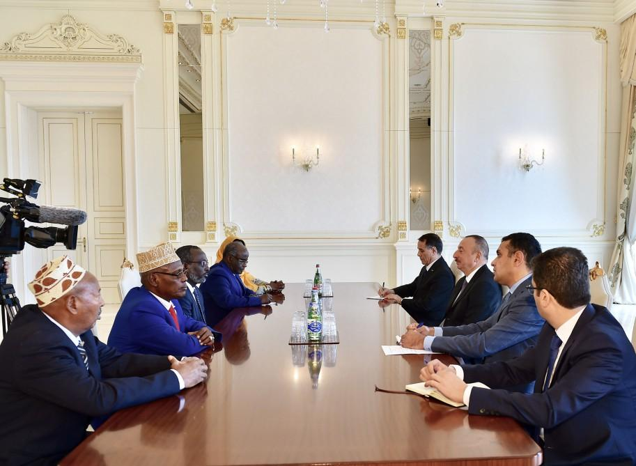 Ilham Aliyev meets delegation led by Djibouti's National Assembly president (PHOTO) - Gallery Image
