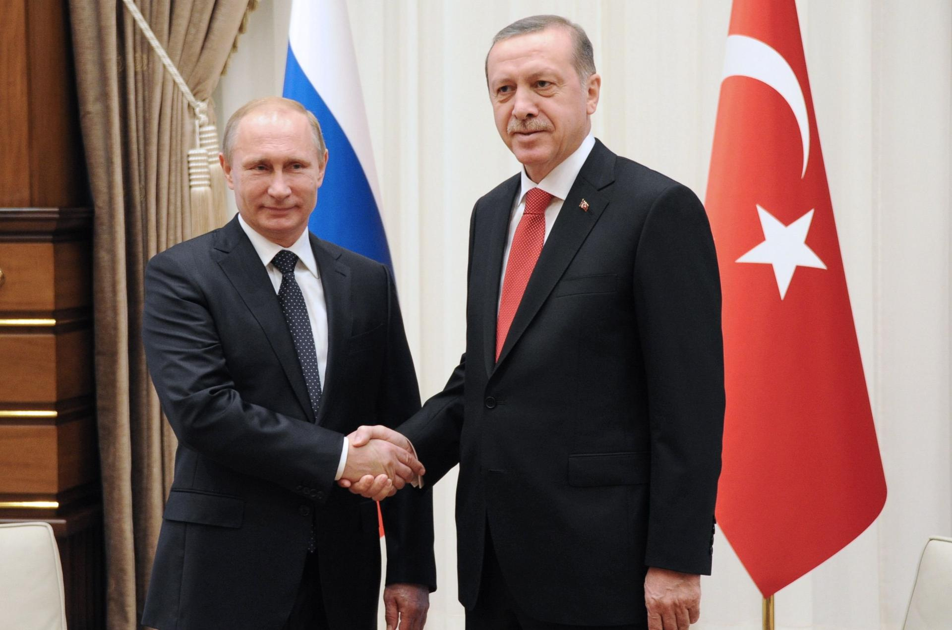 Putin and Erdogan discuss situation in Syria in telephone talks