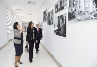 First VP Mehriban Aliyeva attends opening of Culture and Arts University's renovated block (PHOTO)