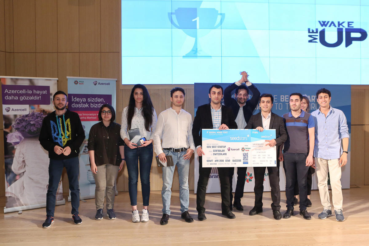 Seedstars World qualifying round winner from Azerbaijan announced (PHOTO) - Gallery Image