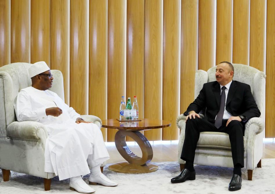 Ilham Aliyev hails good opportunity to develop relations with Mali (PHOTO) - Gallery Image
