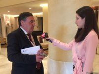 FIG Council member: Azerbaijan ready to host Olympic Games (PHOTO) - Gallery Thumbnail