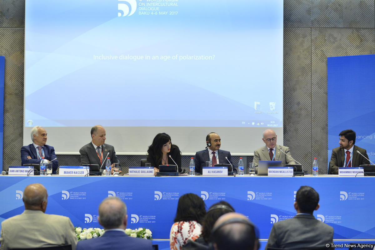 Али Гасанов: Азербайджан всегда поддерживает религиозно-этническое разнообразие, развитие инклюзивного общества (ФОТО) - Gallery Image