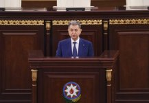 President Aliyev and his spouse attended farewell ceremony for acclaimed scientist, academician Rafiga Aliyeva (PHOTO) - Gallery Thumbnail
