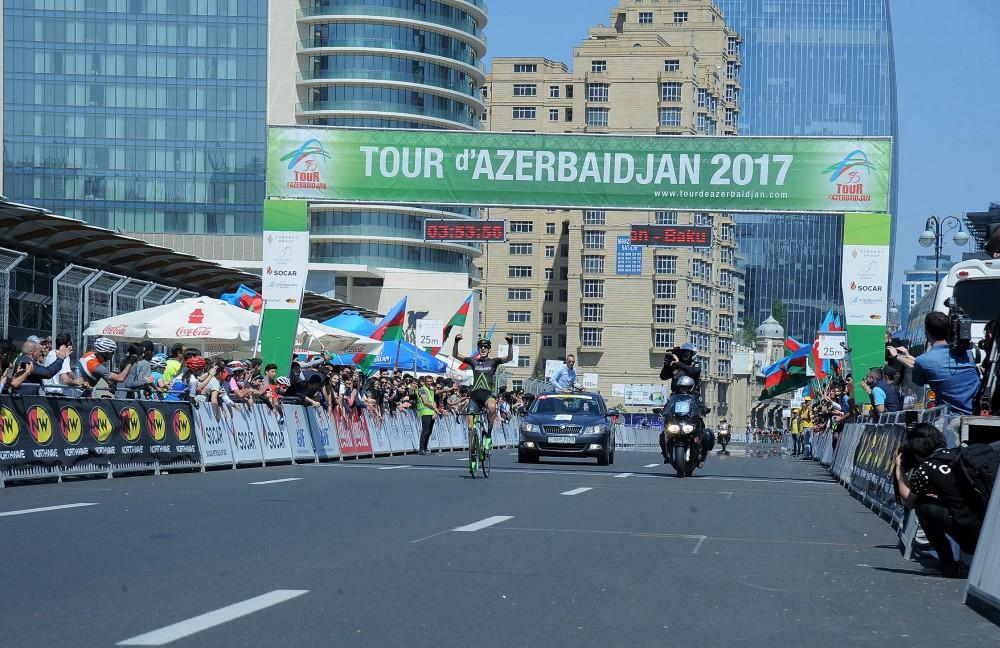 Krists Neilands solos to final stage win as Kirill Pozdnyakov seals overall victory at Tour d'Azerbaidjan 2017 (PHOTO)