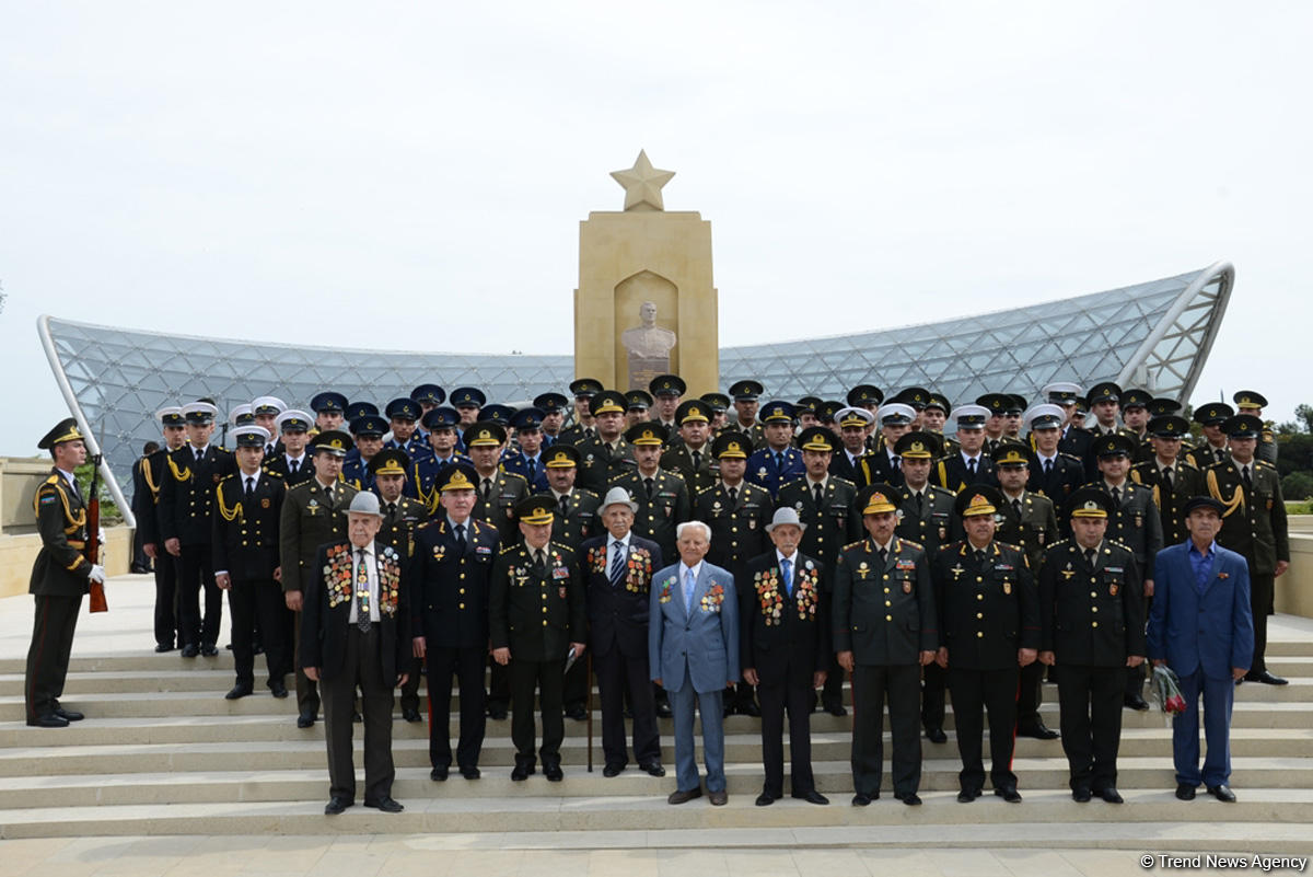 Azerbaijan celebrating Victory Day (PHOTO)