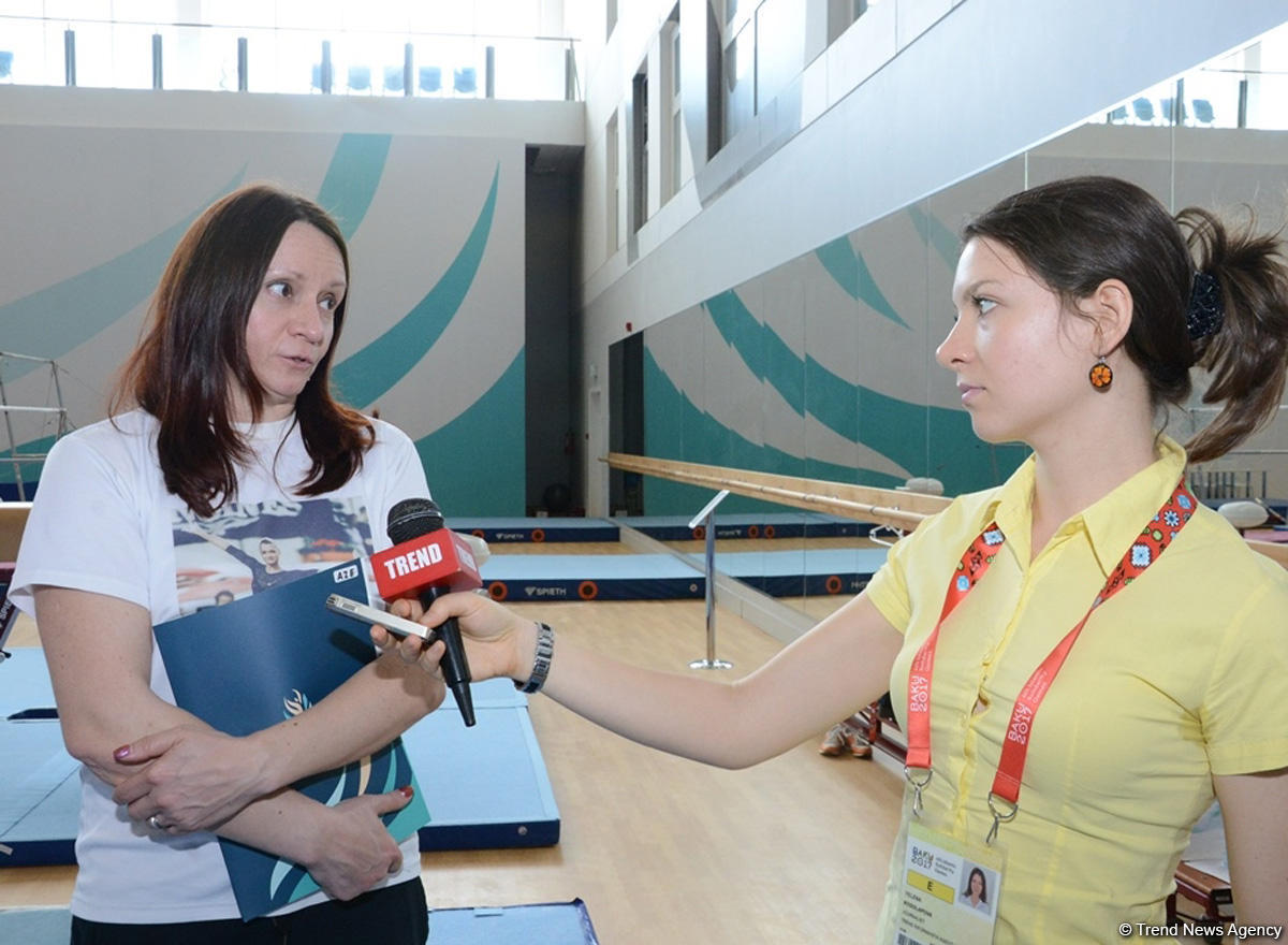Azerbaijan's artistic gymnasts ready to compete for medals at Baku 2017 (PHOTO) - Gallery Image