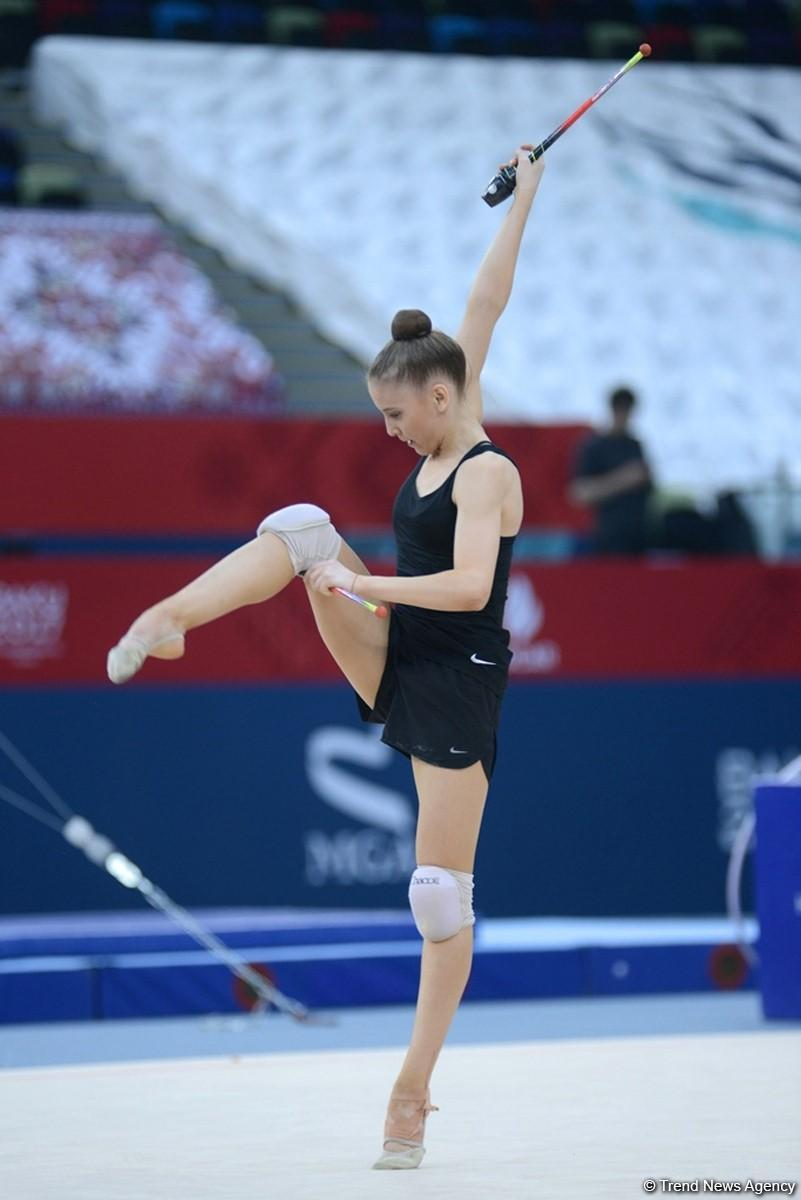 Baku 2017: Rhythmic gymnastics podium training kicks off (PHOTOS) - Gallery Image