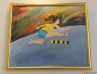 Спортивные пейзажи в Баку - красочные картины, посвященные Исламиаде  (ФОТО) - Gallery Thumbnail