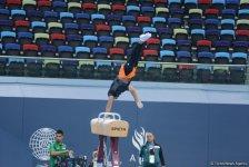 Bakı-2017: İdman gimnastlarının podium məşqləri (FOTOREPORTAJ) - Gallery Thumbnail