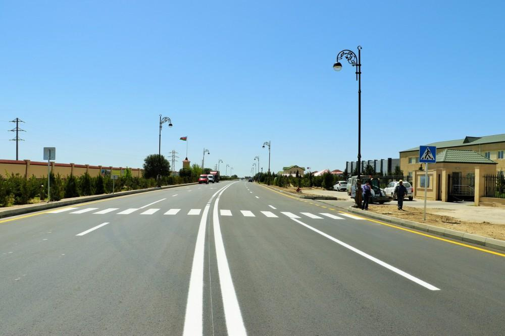 President Aliyev, his spouse attend opening of reconstructed street in Pirallahi (PHOTO) - Gallery Image