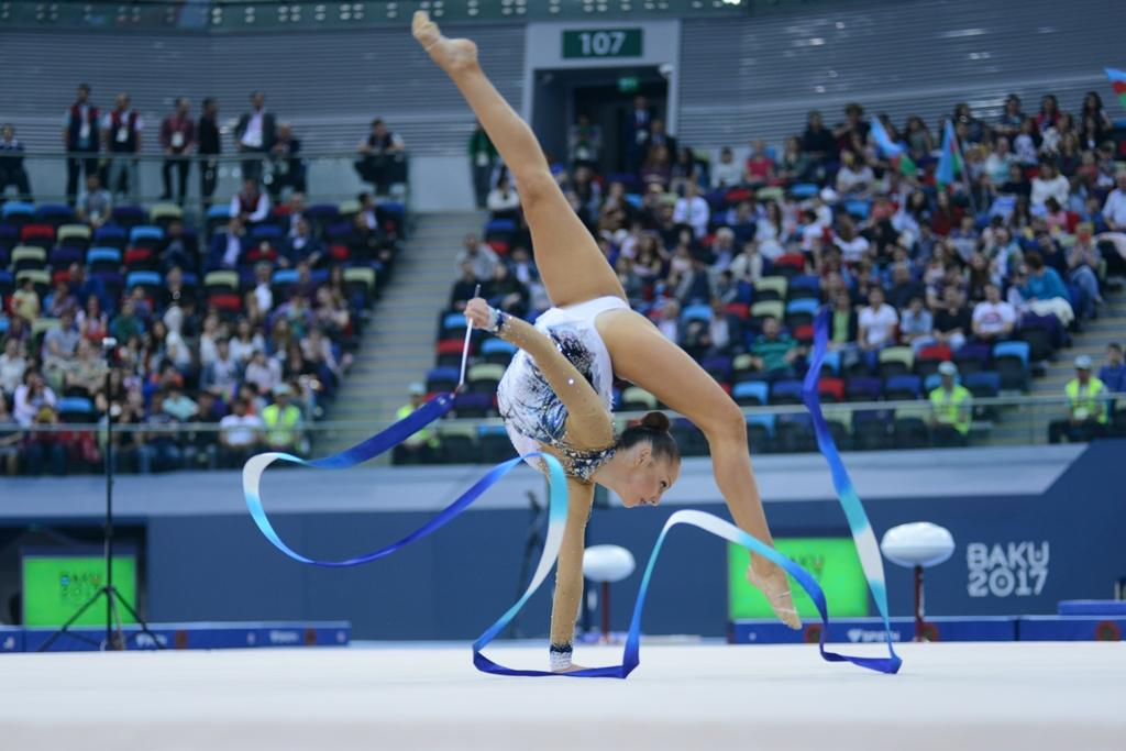 Day 2 of rhythmic gymnastics at Baku 2017 (PHOTOS) - Gallery Image