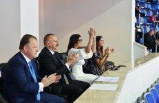 Prezident İlham Əliyev IV İslam Həmrəyliyi Oyunlarında cüdoçuların mükafatlandırma mərasimində iştirak edib (VİDEO) - Gallery Thumbnail