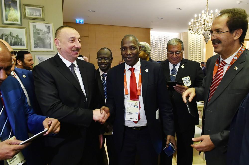Bakı-2017 IV İslam Həmrəyliyi Oyunlarının rəsmi açılış mərasimi keçirilir (FOTO,VİDEO) - Gallery Image