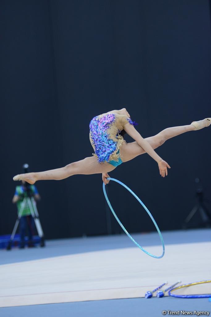 Finals in rhythmic gymnastics start at Baku 2017 (PHOTO) - Gallery Image