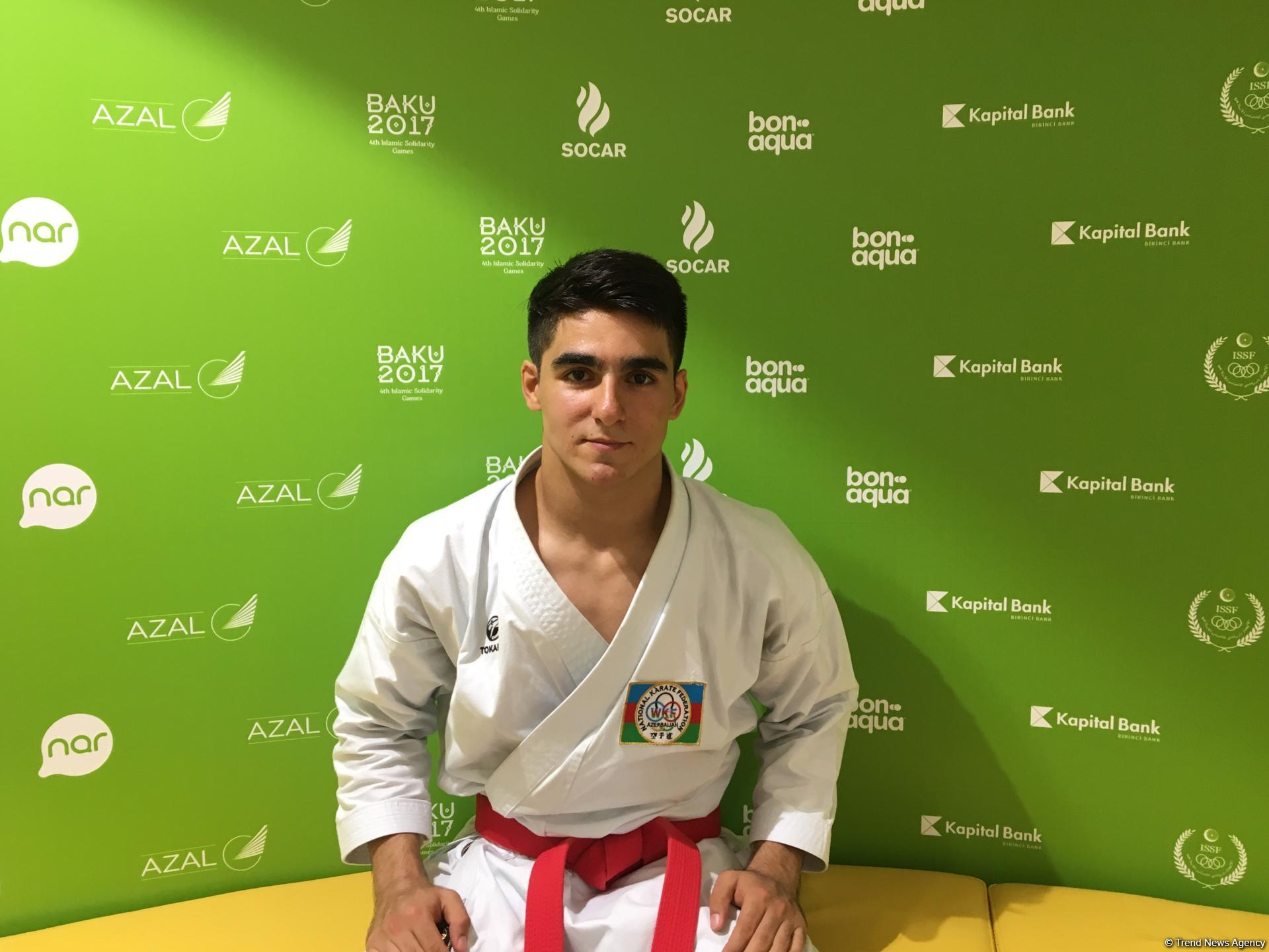 Azerbaijani athlete says fans' support helps to win