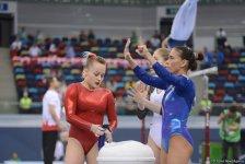 В рамках IV Игр исламской солидарности в Баку стартовали финалы по спортивной гимнастике  (ФОТО) - Gallery Thumbnail