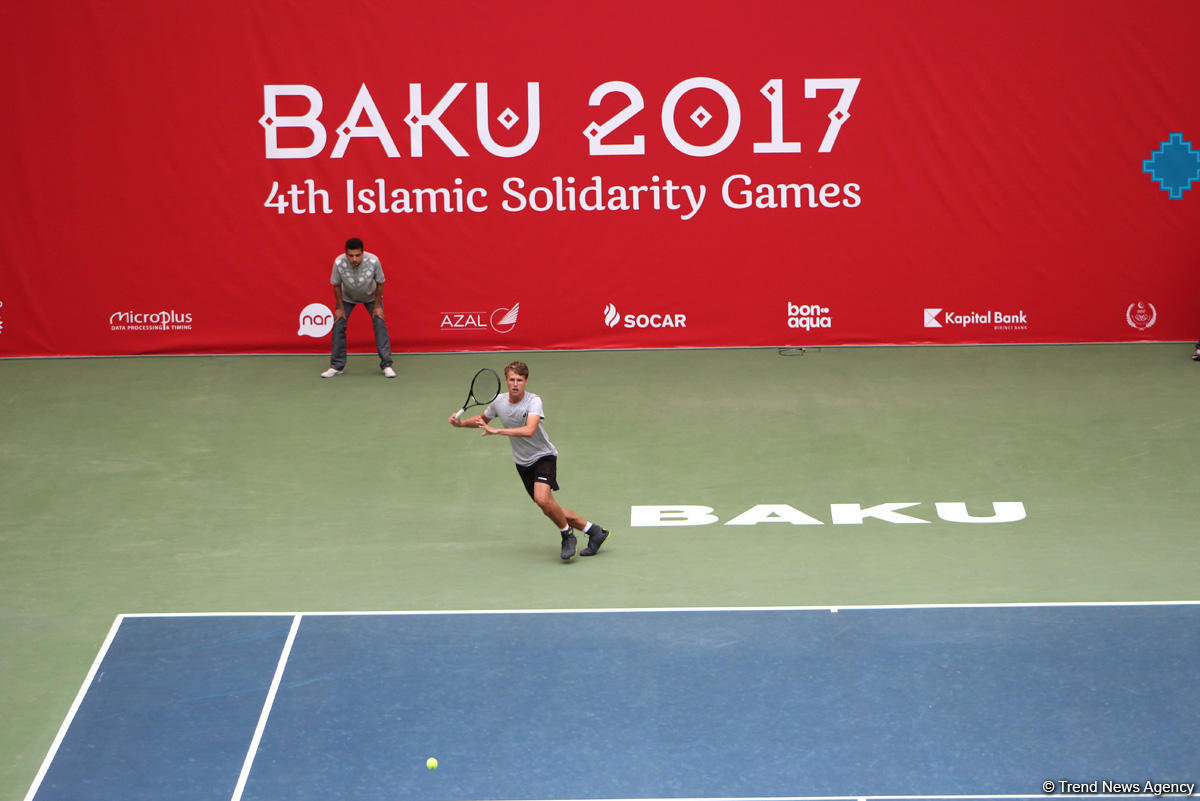 Tennis competitions underway as part of Baku 2017 (PHOTOS)