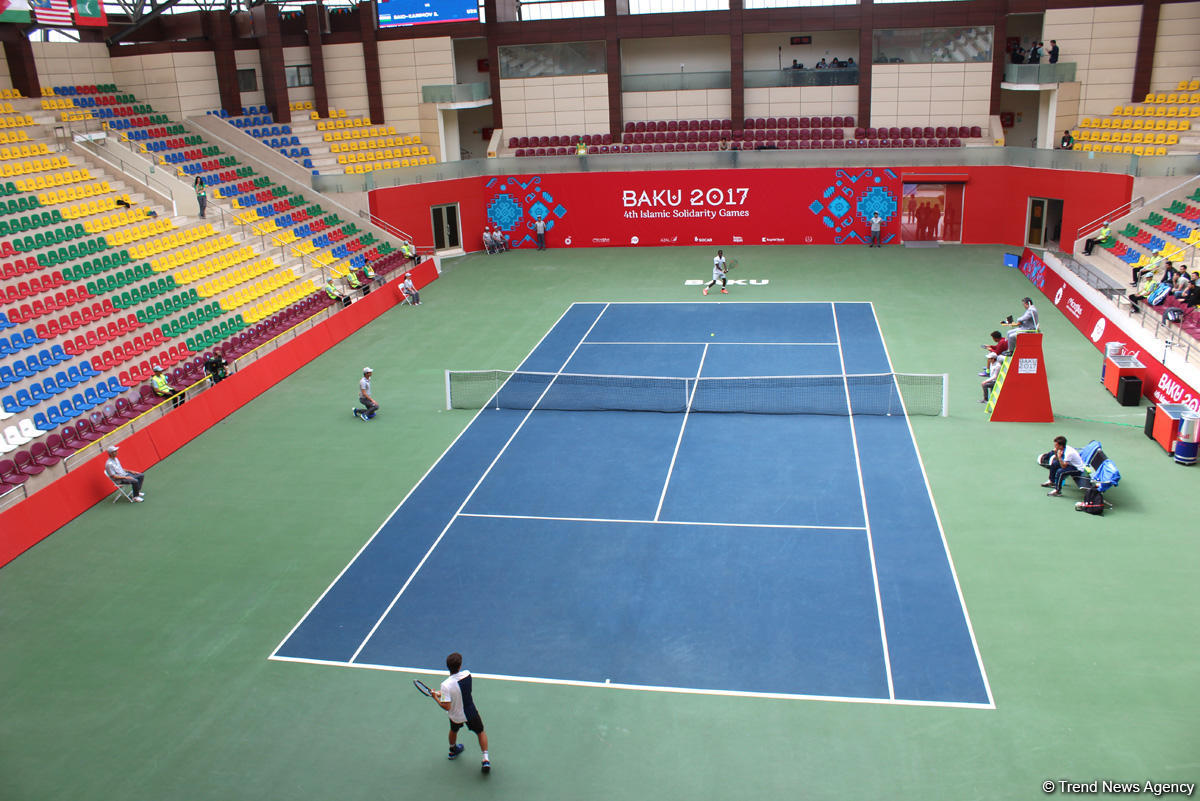 Tennis competitions underway as part of Baku 2017 (PHOTOS) - Gallery Image