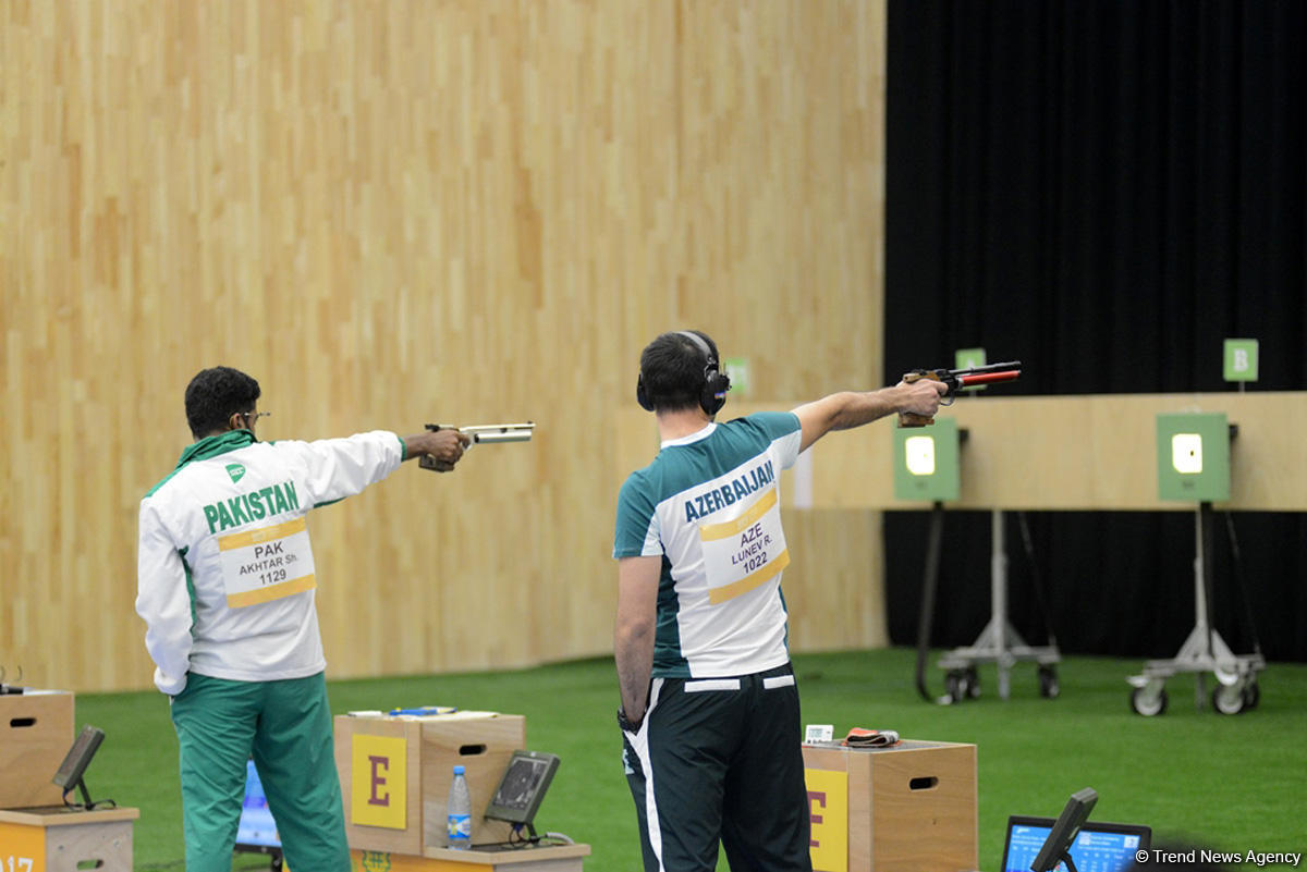 Baku 2017 shooting competitions as caught on camera