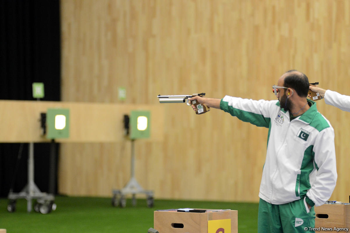 Baku 2017 shooting competitions as caught on camera - Gallery Image