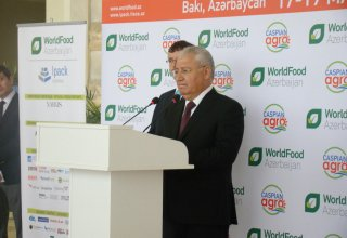 Minister: Export of Azerbaijan's agricultural products up by 44% (PHOTO)