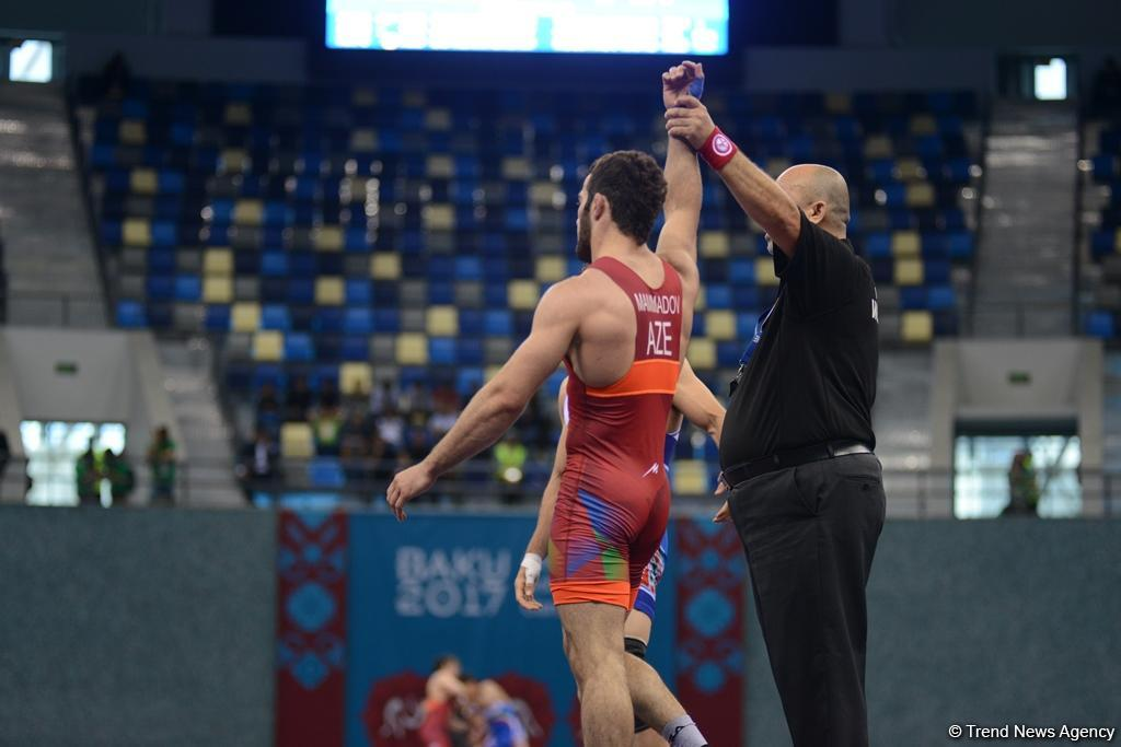Wrestling at Baku 2017 in photos - Gallery Image