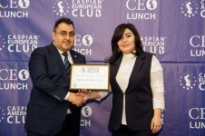 Fourth CEO Lunch hosted in Baku (PHOTO) - Gallery Thumbnail