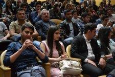 "Beynəlxalq Muğam Mərkəzində ""Natiq ritm qrupu""nun konserti kecirilib (FOTO) - Gallery Thumbnail"