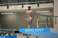 IV İslam Həmrəyliyi Oyunlarında suya tullanma yarışları keçirilir (FOTOREPORTAJ) - Gallery Thumbnail