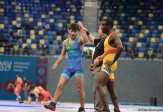 Baku 2017 freestyle wrestling competitions in photos