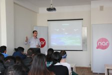 Nar organizes training on mobile communications for students (PHOTO) - Gallery Thumbnail