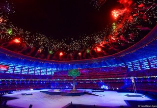 Azerbaijan brings Islamic Solidarity Games to end with sparkling closing ceremony
