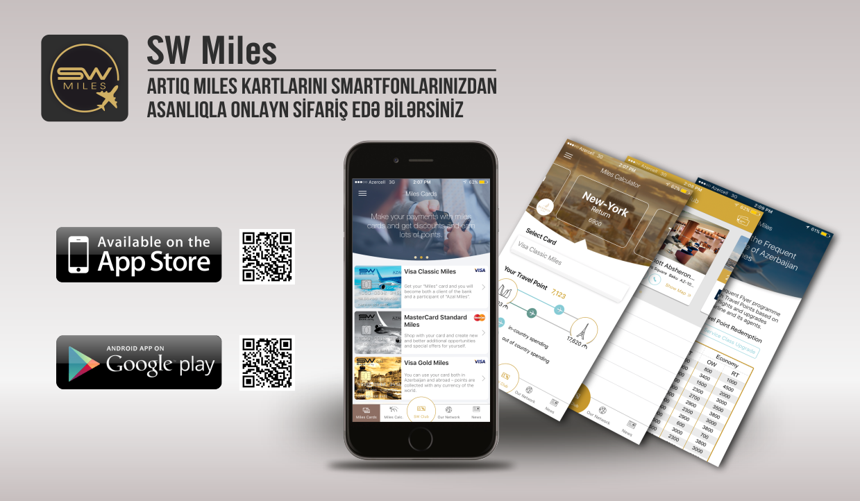 Bank Silk Way provides customers with new SW Miles mobile application