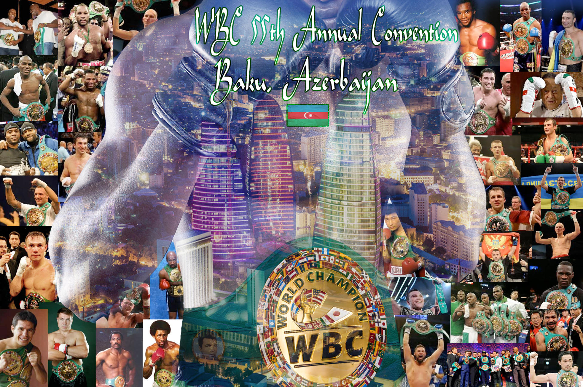 55th World Boxing Council Convention will take place in Baku