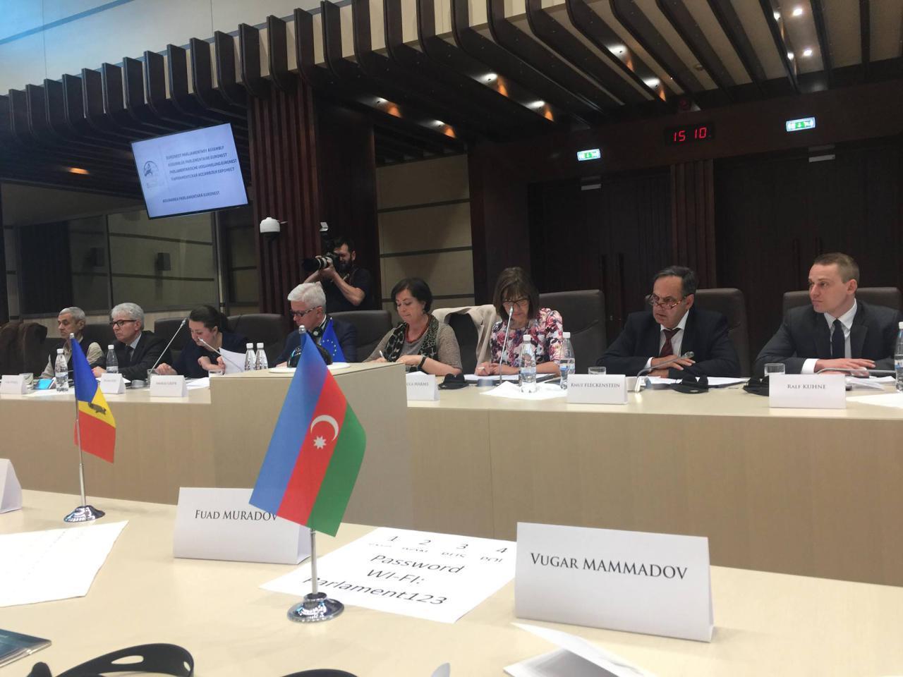 На заседании бюро ПА Евронест отвергли антиазербайджанскую позицию армянской делегации (ФОТО)