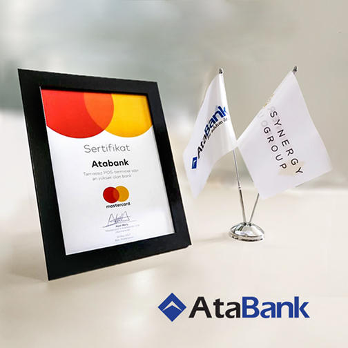 AtaBank awarded with special prize from MasterCard