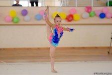 Kürdəmirdə bədii gimnastika üzrə 3-cü Kubok yarışı keçirilir (FOTO) - Gallery Thumbnail
