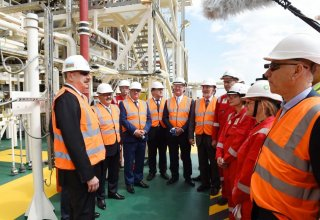 Ilham Aliyev: Gas output from Shah Deniz to be more than estimated