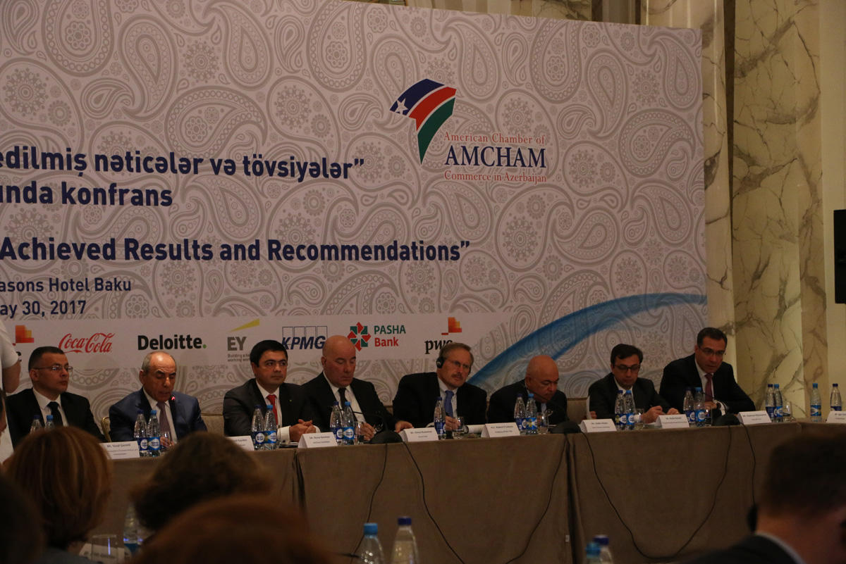 EY sponsors conference on Economic reforms: achieved results and recommendations (PHOTO)