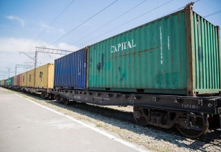 First container train leaves from Baku to Europe via BTK