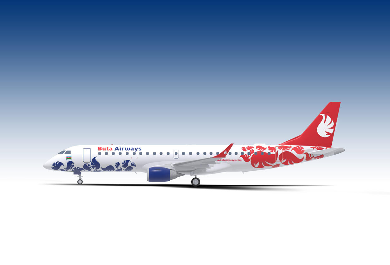 BUTA AIRWAYS livery, logo approved (PHOTO) - Gallery Image
