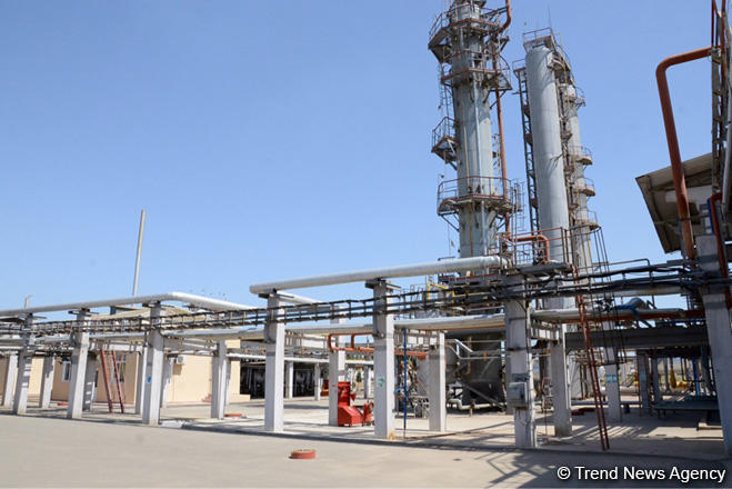 Azerbaijan reveals 9M2020 data on manufacturing of oil products in Baku