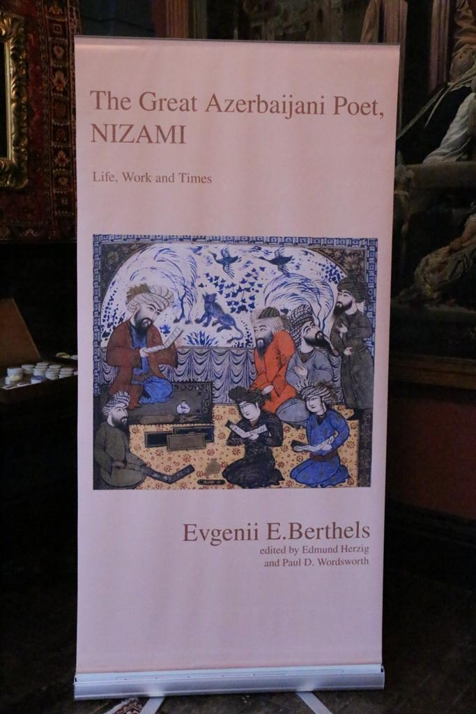 "First time ""The Great Azerbaijani Poet, Nizami"" translated into English (PHOTO) - Gallery Image"