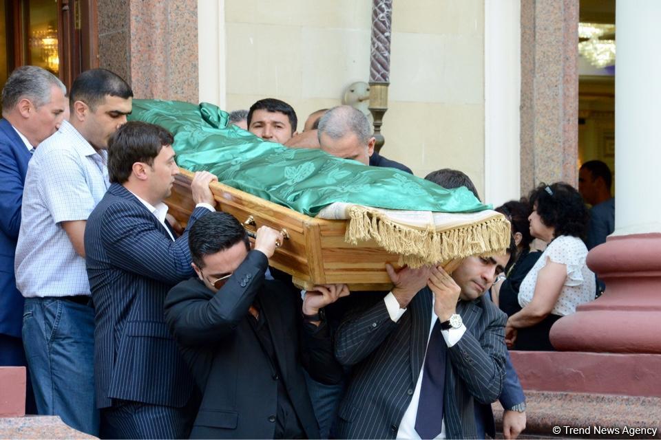 Farewell ceremony for Azerbaijani Energy Minister Natig Aliyev in Baku (PHOTO) (UPDATE) - Gallery Image