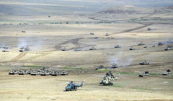 Azerbaijan, Turkey holding joint tactical drills in Nakhchivan