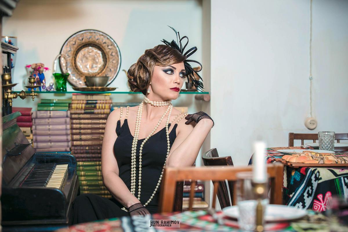 Вафа Исазаде воплотила образ Коко Шанель (ФОТО) - Gallery Image