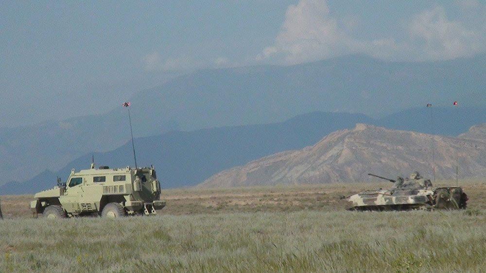 Türkiye ve Azerbaycan'ın Nahçıvan'daki Ortak Askeri Tatbikatı Sürüyor - Gallery Image