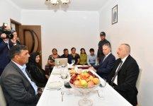 Президент Ильхам Алиев  ознакомился с работами, проведенными в восстановленном селе Джоджуг Мерджанлы (ФОТО) (версия 2) - Gallery Thumbnail